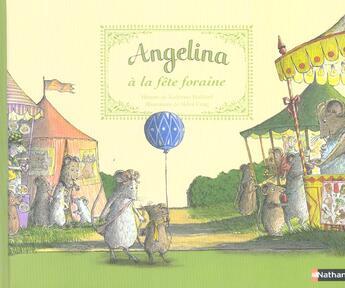 Couverture du livre « Angelina A La Fete Foraine » de Katharine Holabird aux éditions Nathan