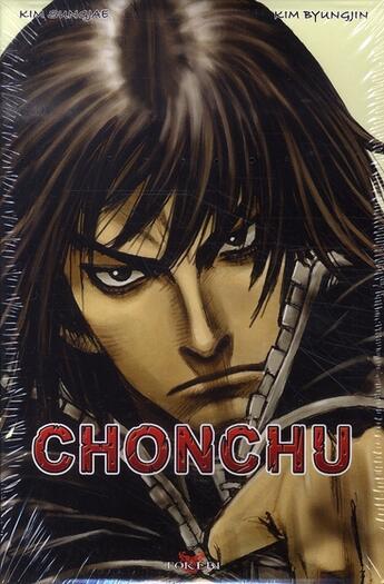 Couverture du livre « Chonchu ; coffret t.5 ; t.13 à t.15 » de Kim Byung Jin et Kim Sung Jae aux éditions Tokebi