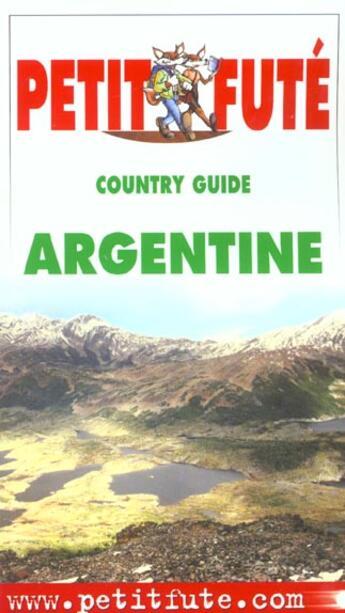 Couverture du livre « Argentine 2002, le petit fute » de Collectif Petit Fute aux éditions Le Petit Fute