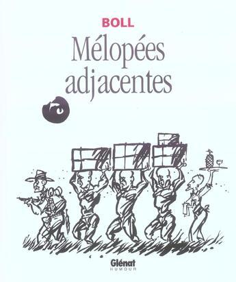 Couverture du livre « Melopees Adjacentes » de Boll aux éditions Glenat