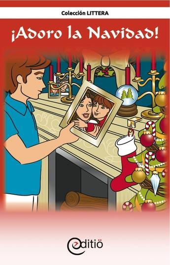 Couverture du livre « ¡Adoro la Navidad! » de Tomy Pageau aux éditions Editio