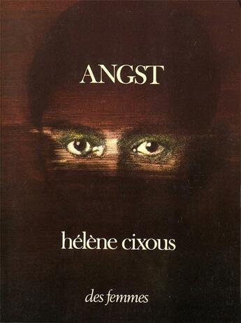 Couverture du livre « Angst » de Helene Cixous aux éditions Des Femmes