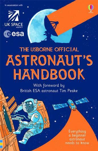 Couverture du livre « Astronaut's handbook » de Louie Stowell aux éditions Usborne