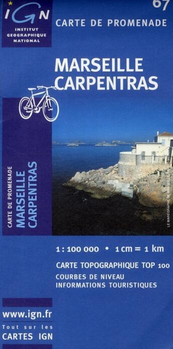 Couverture du livre « *Marseille-Carpentras* » de Collectif Ign aux éditions Ign