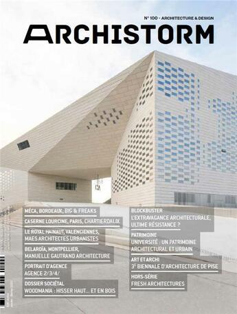 Couverture du livre « Archistorm n 100 - janvier/fevrier 2020 » de Collectif aux éditions Archistorm
