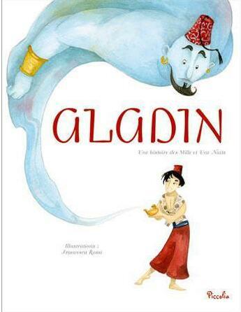 Couverture du livre « 12 contes classiques ; Aladin » de Collectif aux éditions Piccolia