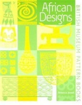 Couverture du livre « African Designs /Anglais » de Jewell Rebecca aux éditions British Museum