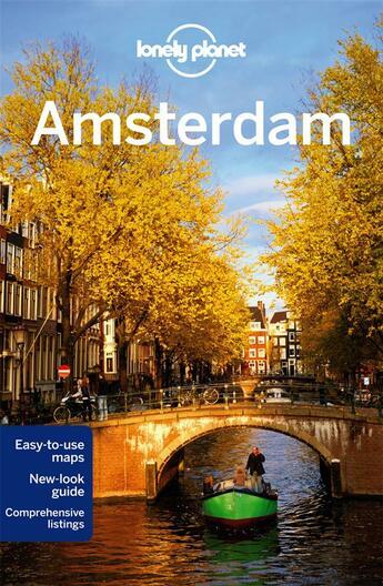 Couverture du livre « Amsterdam (9e édition) » de Karla Zimmerman aux éditions Lonely Planet France