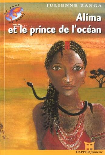 Couverture du livre « Alima Et Le Prince De L'Ocean » de Julienne Zanga aux éditions Dapper