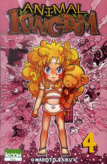 Couverture du livre « Animal kingdom t.4 » de Makoto Raiku aux éditions Ki-oon