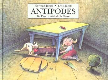 Couverture du livre « Antipodes » de Junge Norman / Jandl aux éditions Ecole Des Loisirs