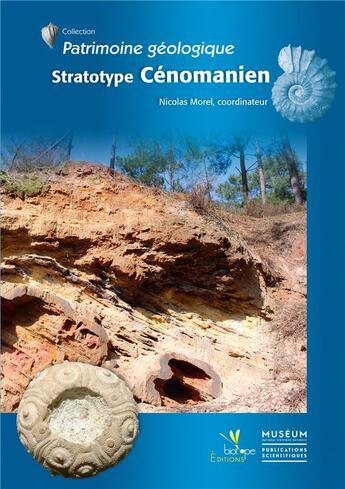 Couverture du livre « Stratotype cenomanien » de Nicolas Morel aux éditions Biotope