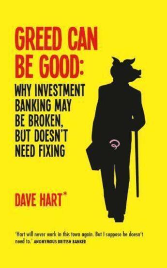 Couverture du livre « Greed Can Be Good » de Charters David aux éditions Elliott And Thompson Digital