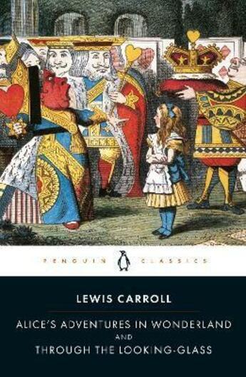 Couverture du livre « Alice's adventures in Wonderland ; through the looking-glass » de Lewis Carroll aux éditions Adult Pbs