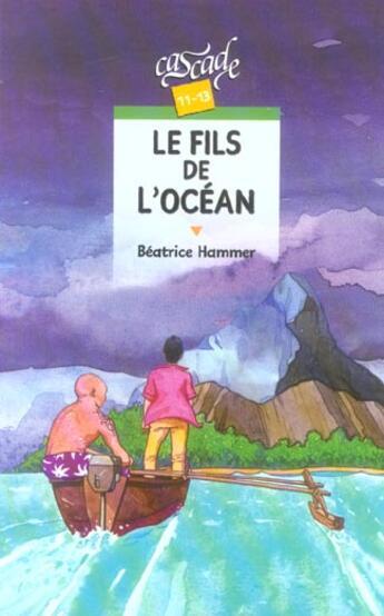 Couverture du livre « Le Fils De L'Ocean » de Beatrice Hammer aux éditions Rageot