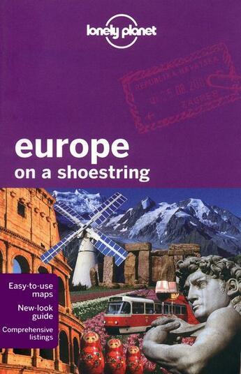 Couverture du livre « Europe on a shoestring (7e édition) » de Collectif aux éditions Lonely Planet France
