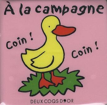 Couverture du livre « À la campagne » de Collectif aux éditions Deux Coqs D'or