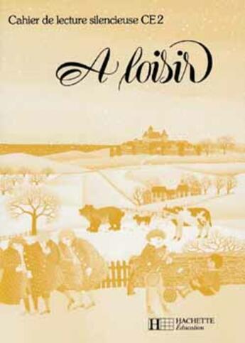 Couverture du livre « A LOISIR ; CAHIER DE LECTURE SILENCIEUSE » de Bollene aux éditions Hachette Education