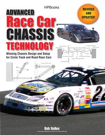 Couverture du livre « Advanced Race Car Chassis Technology HP1562 » de Bolles Bob aux éditions Penguin Group Us