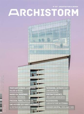 Couverture du livre « Archistorm n 107 mars/avril 2021 » de Collectif aux éditions Archistorm