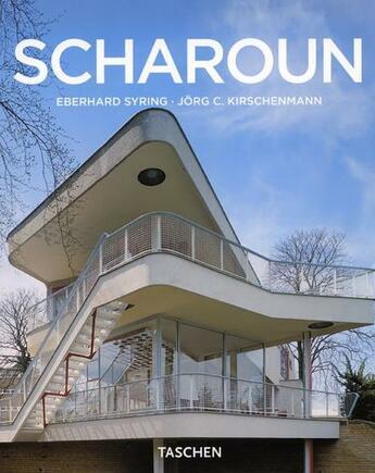 Couverture du livre « Scharoun » de Syring Eberhard aux éditions Taschen
