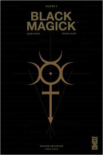 Couverture du livre « Black Magick T.2 » de Greg Rucka et Nicola Scott aux éditions Glenat Comics