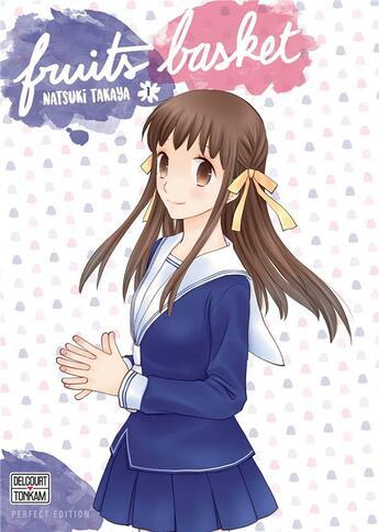 Couverture du livre « Fruits basket - perfect edition T.1 » de Natsuki Takaya aux éditions Delcourt