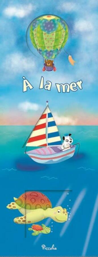Couverture du livre « À la mer » de Piccolia aux éditions Piccolia