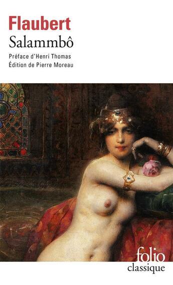 Couverture du livre « Salammbô » de Gustave Flaubert aux éditions Gallimard
