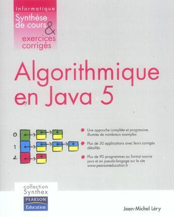 Couverture du livre « Synthex » de Jean-Michel Lery aux éditions Pearson