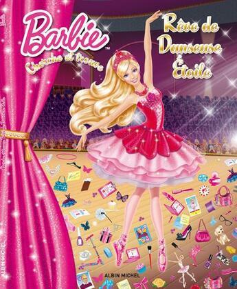 Couverture du livre « Cherche et trouve ; rêve de danseuse étoile » de Collectif aux éditions Albin Michel