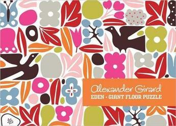 Couverture du livre « Alexander Girard Eden Giant Floor Puzzle » de Ouvrage Collectif aux éditions Ammo