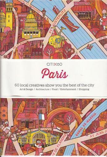 Couverture du livre « Citi x60 paris » de Gingko aux éditions Victionary