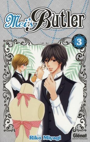 Couverture du livre « Mei's Butler t.3 » de Riko Miyagi aux éditions Glenat