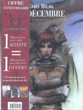 Couverture du livre « 32 Decembre » de Enki Bilal et Dionnet et Baranko aux éditions Humanoides Associes