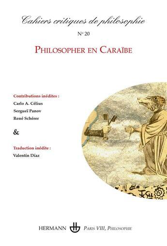 Couverture du livre « Cahiers critiques de poésie T.20 » de Bruno Cany aux éditions Hermann