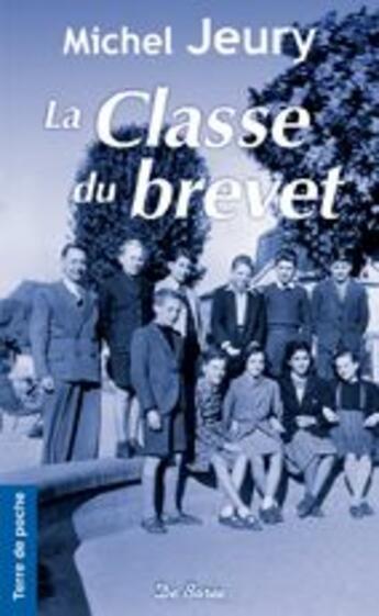 Couverture du livre « La classe du brevet » de Jeury M aux éditions De Boree
