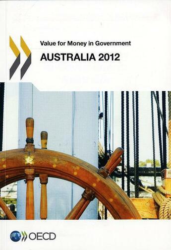 Couverture du livre « Australia 2012 ; value for money in government » de Collectif aux éditions Ocde