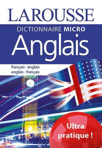 Couverture du livre « Anglais ; français-anglais ; anglais-français » de Collectif aux éditions Larousse