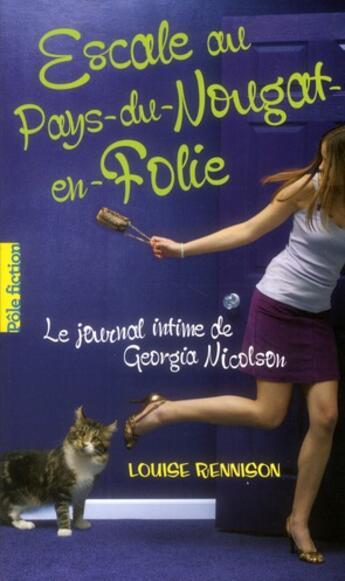 Couverture du livre « Escale au Pays-du-nougat-en-folie » de Louise Rennison aux éditions Gallimard-jeunesse