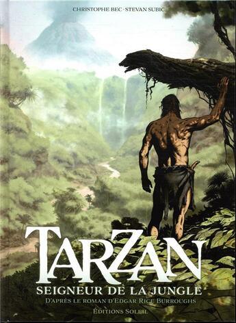 Couverture du livre « Tarzan T.1 ; origines » de Christophe Bec et Stevan Subic aux éditions Soleil