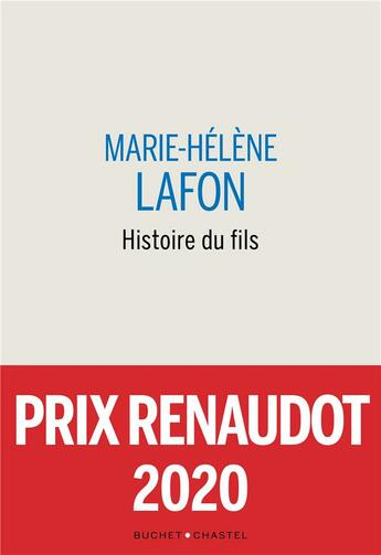 Couverture du livre « Histoire du fils » de Marie-Helene Lafon aux éditions Buchet Chastel