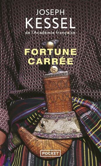 Couverture du livre « Fortune carrée » de Joseph Kessel aux éditions Pocket
