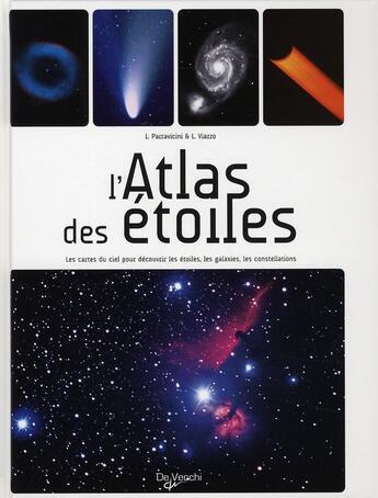 Couverture du livre « Atlas Des Etoiles (L') » de Collectif aux éditions De Vecchi
