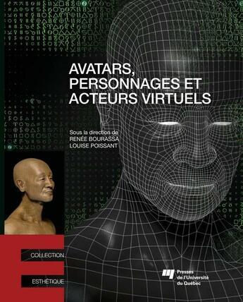 Couverture du livre « Avatars personnages et acteurs virtuels » de Bourassa/Poissa aux éditions Presses De L'universite Du Quebec
