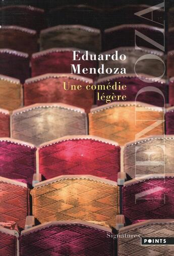 Couverture du livre « Une comédie légère » de Eduardo Mendoza aux éditions Points