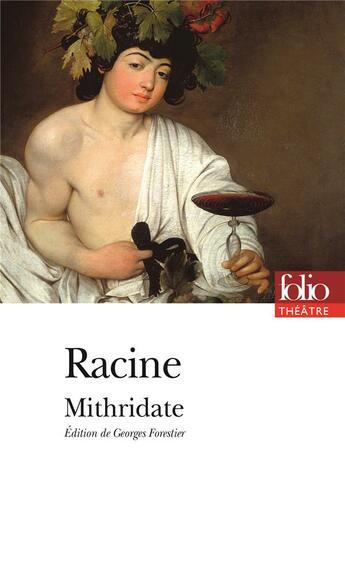 Couverture du livre « Mithridate » de Jean Racine aux éditions Gallimard