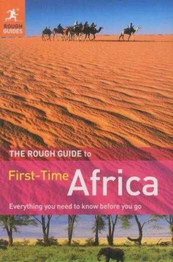 Couverture du livre « AFRICA - 2ND EDITION » de Collectif aux éditions Rough Guides