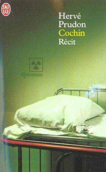 Couverture du livre « Cochin » de Herve Prudon aux éditions J'ai Lu