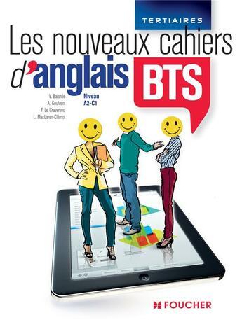Couverture du livre « Anglais ; BTS ; niveau A2-C1 » de V Baisnee aux éditions Foucher